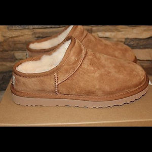 UGG Australia Classic Suede Slippers CHESTNUT